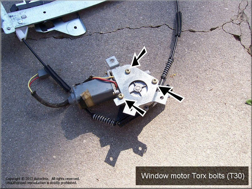 Free do it yourself automotive repair for How to fix car window motor