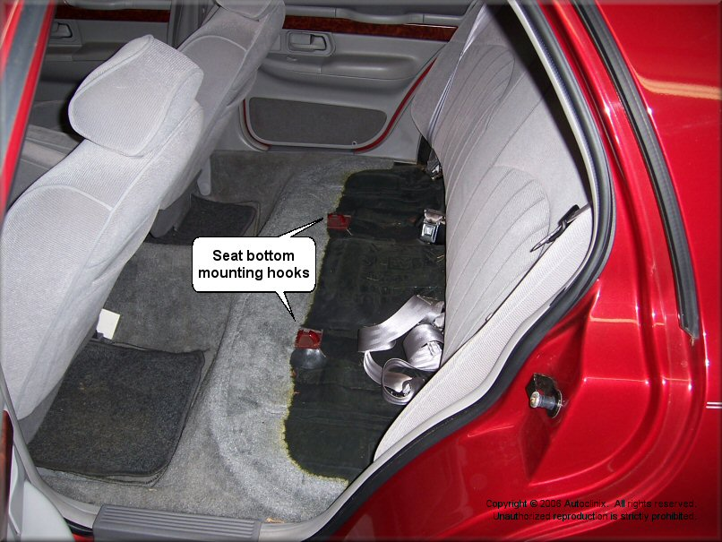Service manual 1999 ford crown victoria back seat removal for 1997 crown victoria power window repair