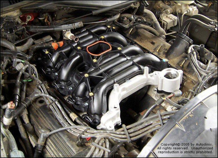 Autoclinix Com Ford Lincoln Mercury Intake Manifold Repair