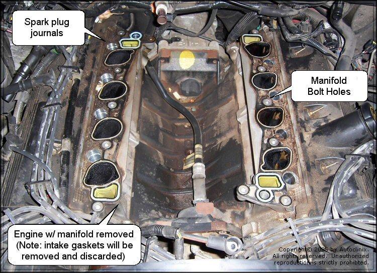 Autoclinix.com: Ford/Lincoln/Mercury Intake Manifold Repair on